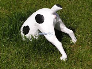 Halberhund-Buddelnder-Gartenzwerg-Hund-ohne-Kopf-Garten-Deko-Terrier-Figur-Fan