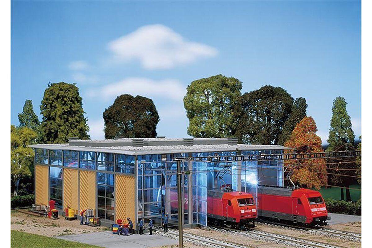 Faller 120217 HO 1 87 Hangar à locomotives électriques, 3 voies