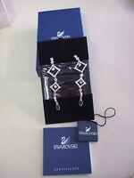 Swarovski Swarovski Marrakesh Pierced Earrings Elegant New In Box