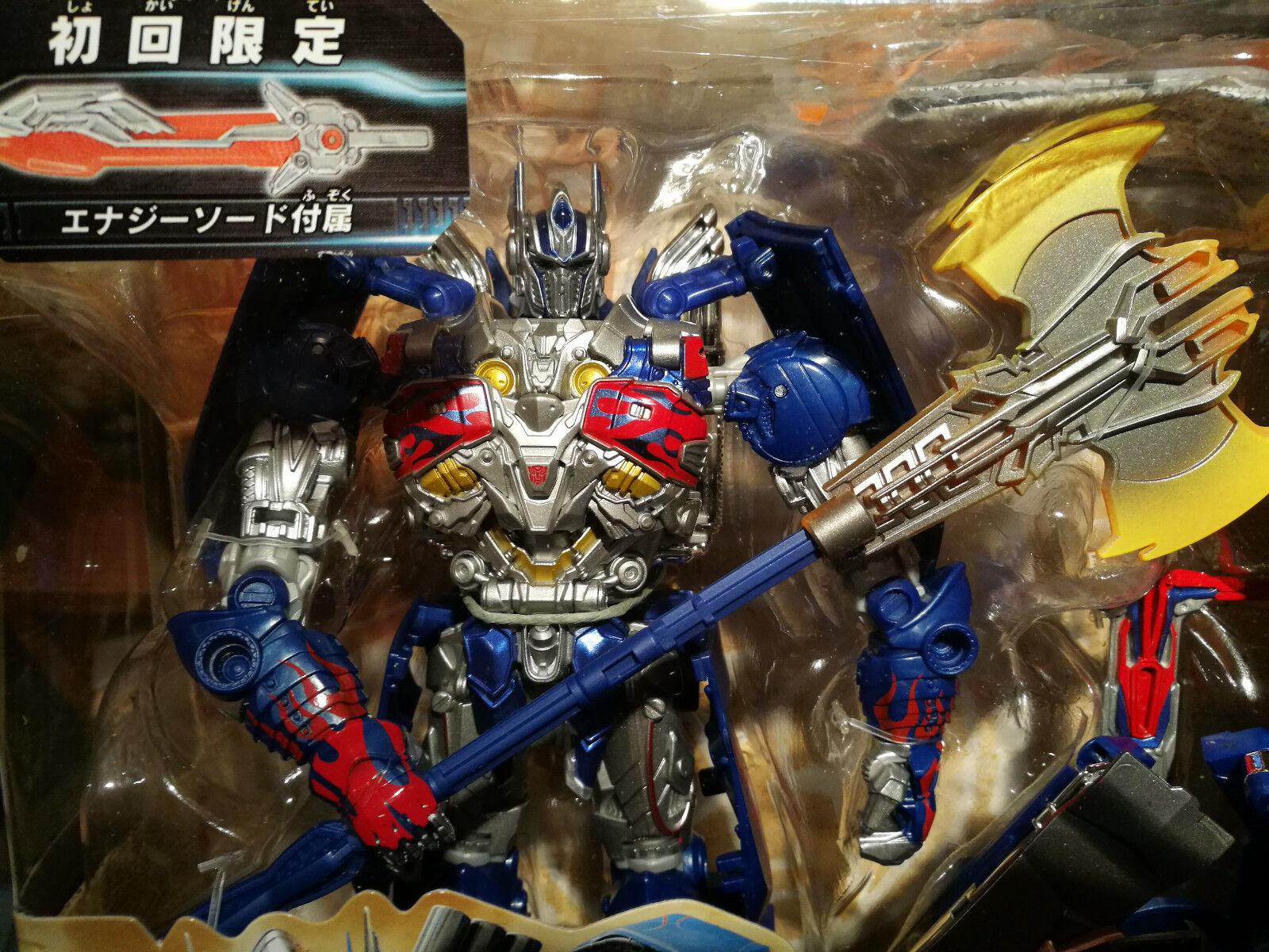 Transformers The Last Knight tlk-15  Calibur Optimus Prime Limited First Edition  les derniers modèles