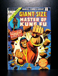 COMICS-Shang-Chi-Master-of-Kung-Fu-Giant-Size-1-1974-1st-Council-of-Seven