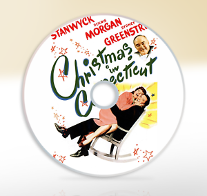 Christmas In Connecticut Dvd.Details About Christmas In Connecticut 1945 Dvd Classic Comedy Movie Film Barbara Stanwyck