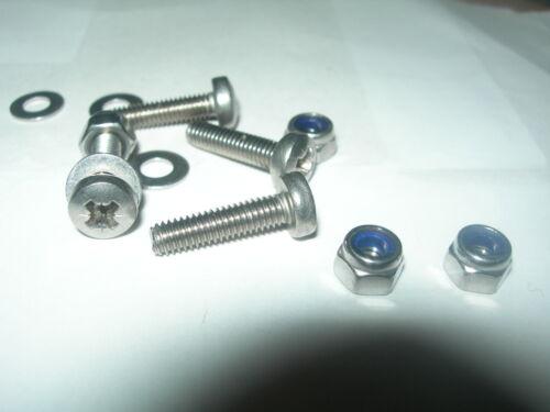 Stl Packungen Von 10 M2.5,M3,M4,M5,M6 Pozi Pan M//C Schrauben A2 S Muttern