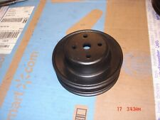 New Listing 1984 S10 Pickup Water Pump Pulley 20ll 14049765 Gm Oem