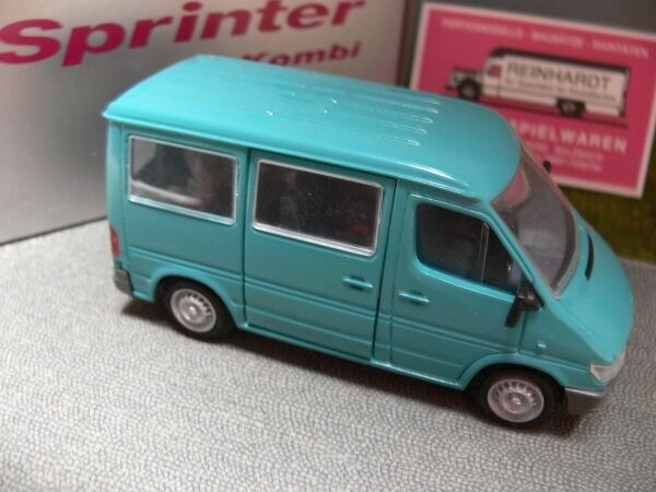 1 43 Nzg Mb Sprinter Combi Bus turquoise No. 425 Made in Germany
