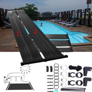 Chauffage solaire de piscine solaire collecteur panneau solaire thermique pool ebay - Panneaux solaire pour piscine ...