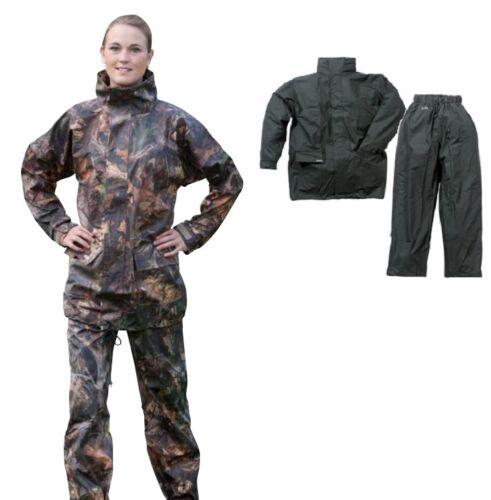 20-54 Ocean Komfort Stretch Set Tarnung oder Schwarz/Hose & Jacke Bekleidung