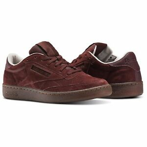 2efba5c1a114e Reebok Men s CLUB C 85 G SUEDE Shoes Burnt Sienna Sand Stone BS5093 ...