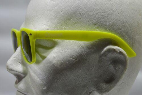 ORANGINA soda Lunettes soleil mixte UV 400 jaune fluo NEUF