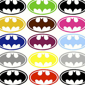 Small Batman Bat Man Logo Childrens Wall Art Stickers