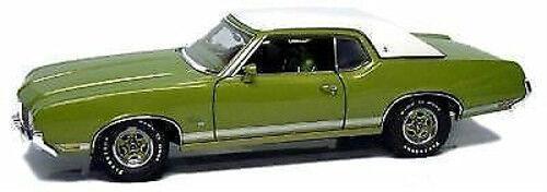 1 18 Exact Detail 1971 oldsmobile Supreme SX Lime 1 1000