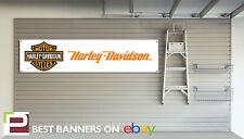 Harley Davidson Workshop Garage Banner PVC Sign Iron XL883n, Sportster, 1200