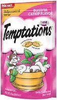 (12) Whiskas10101653 3 Oz Temptations Blissful Catnip Cat Snacks Treats Food