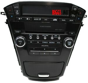 2010-2013 Acura MDX Radio Stereo 6 Disc Changer Cd Player 39101-STX-A510-M1
