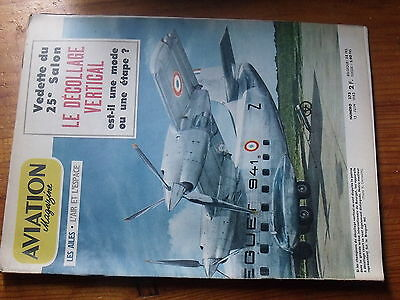 $$ Revue Aviation Magazine N°373 Decollage Vertical Breguet 941 Vto