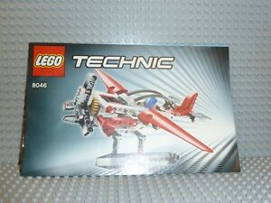LEGO® Technic Bauanleitung 8046 Helicopter instruction BA ungelocht