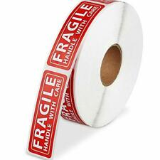Poxoke 1000pcs Fragile Stickers 1x3