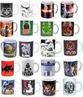 Star Wars: Cerámica Café/Té Taza - Nuevo Oficial En Caja Han Solo / DARTH / Yoda