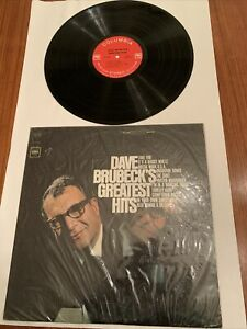 VG In Shrink DAVE BRUBECK GREATEST HITS LP COLUMBIA Stereo CS 9284 Jazz Piano