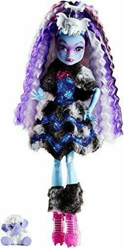 Monster High Fgd27 Abbey Bominable Doll For Sale Online Ebay