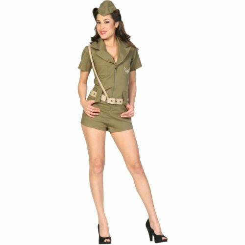 First Line of Defense Military Girl Teen Halloween Costume Size 3-5