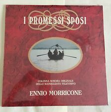 "LP VINYL 12"" OST I PROMESSI SPOSI ENNIO MORRICONE SEALED FONIT LPX 245"