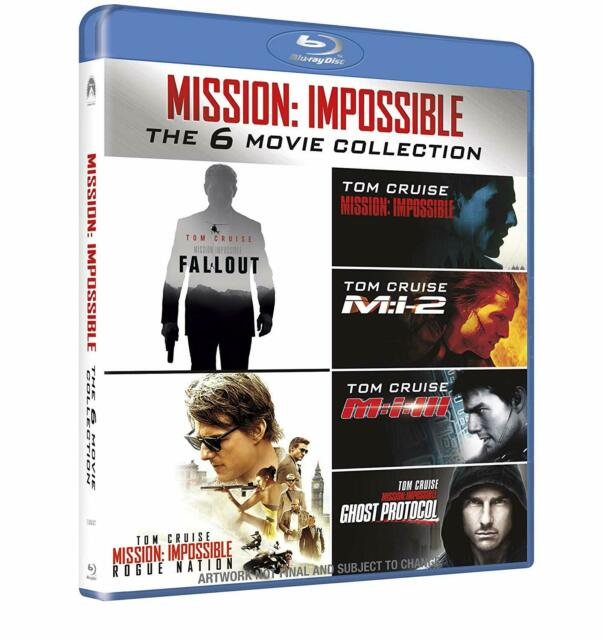 Mission Impossible Collection (7 Blu-Ray) PARAMOUNT