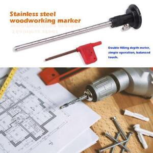 160mm-Wheel-Marking-Gauge-Woodworking-Scribers-Parallel-Line-Drawing-Tool