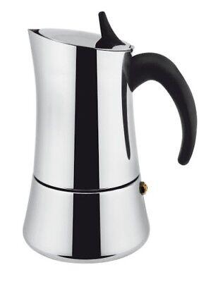 ECCEZIONALE CAFFETTIERA in acciaio inox 18//10 BIALETTI MUSA