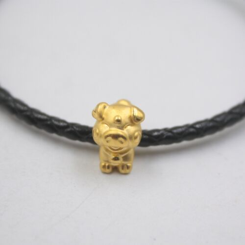 Pure 999 24k Yellow Gold Pendant 3D Chinese Zodiac Signs Pendant 1.3g Each