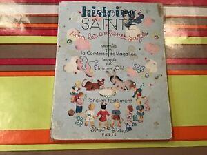 Histoire-Sainte-pour-enfants-sages-par-la-Comtesse-de-Magallon-edite-chez-Grund