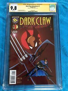 Dark-Claw-Adventures-1-Amalgam-CGC-SS-9-8-NM-MT-Signed-by-Ty-Templeton