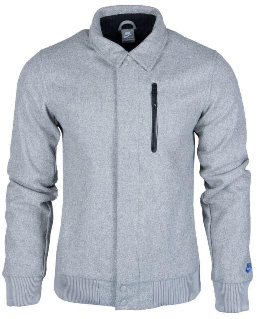 Nike Wool Coachstroyer Jacket UK Sz L Grey 426774 063  79b70cb01