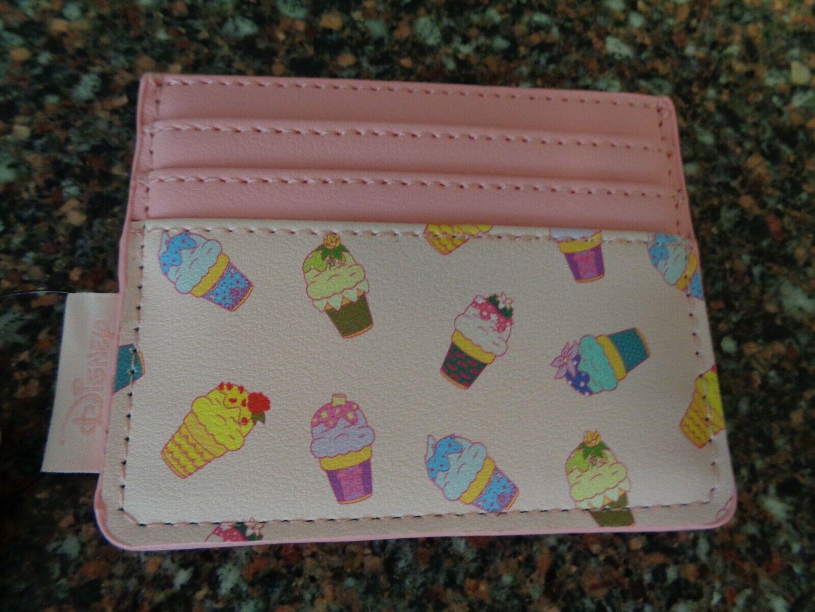 Loungefly Disney Princess Ice Cream Cones Cardholder Pink NWT New