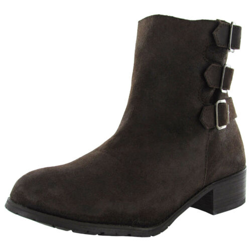 BooRoo Womens Jules Wool Lined Suede Ankle Boot Shoe
