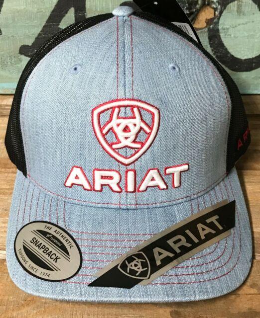 Ariat Mens Hat Baseball Cap Mesh Snap