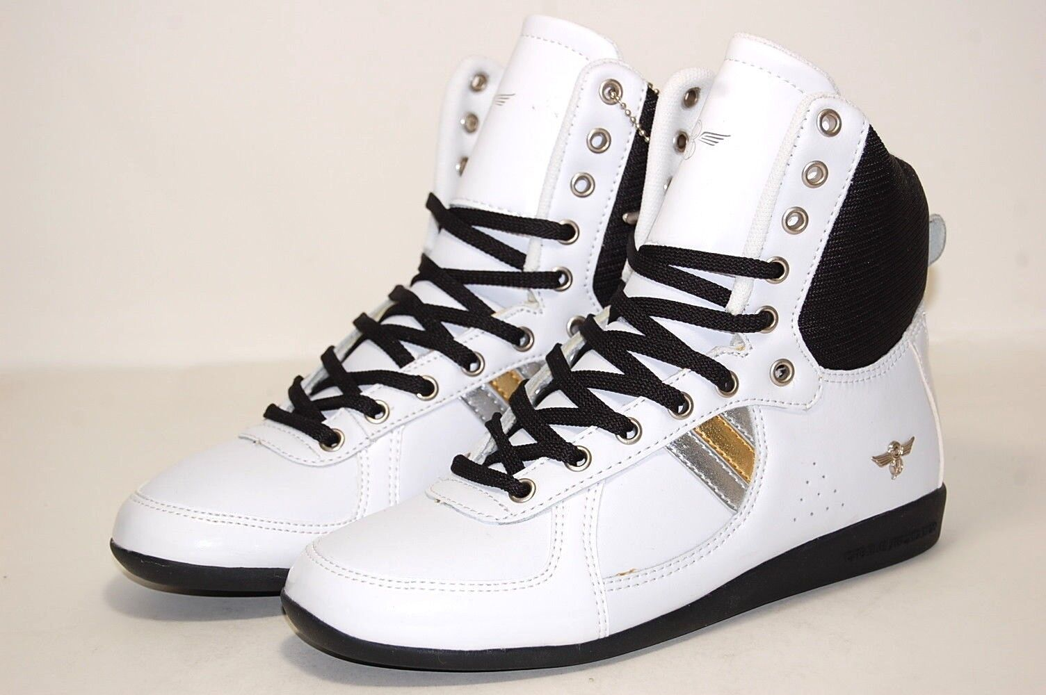 Creative Recreation WCR75HI48 BWTPT White patent Women shoes