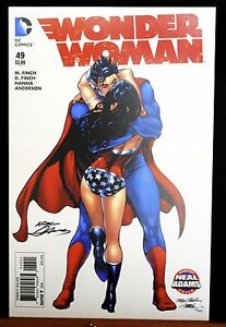 Wonder-Woman-49-Superman-Kiss-Cover-Fine-Art-Print-by-Neal-Adams-Signed