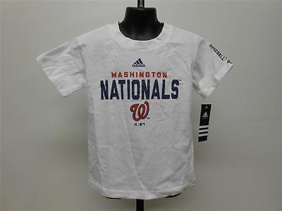 New-minor Fehler Washington Nationals Kindergrößen S-m-l Weißes Shirt Von Adidas Offensichtlicher Effekt Baseball & Softball Fanartikel
