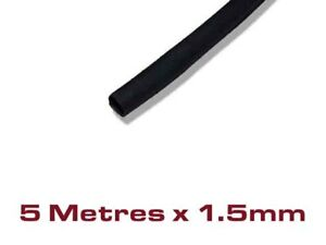 Size-1-5mm-x-5M-5-Metres-Black-Heat-Shrink-Tubing-Cable