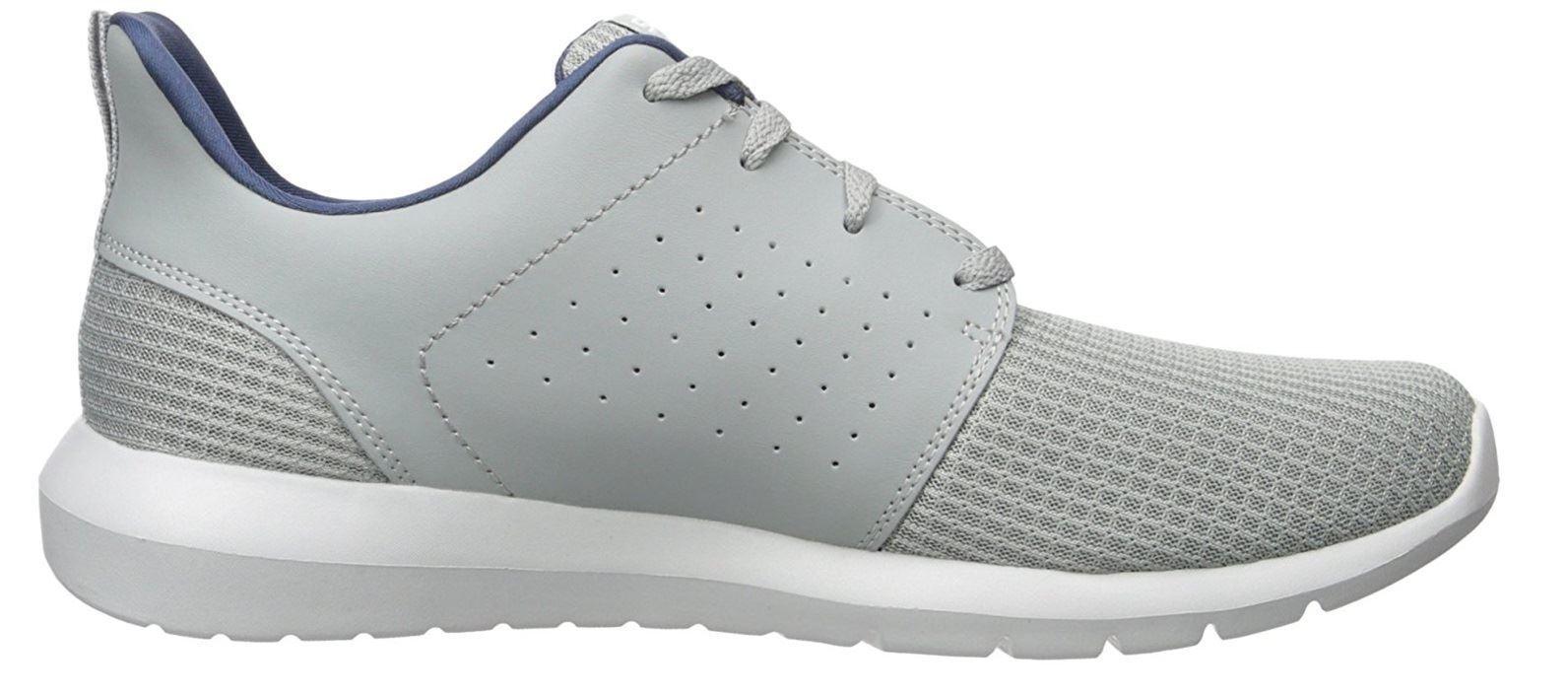 Skechers Uomo Foreflex Foreflex Foreflex con Lacci Athletic Walking e Training scarpe da ginnastica in Grigio 7cb785