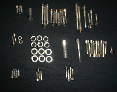 Honda XR600R 1997 stainless steel engine casing case cover motorcycle bolts kit