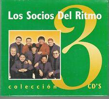 Los Socios del Ritmo 3CDs de Coleccion Box set New Nuevo