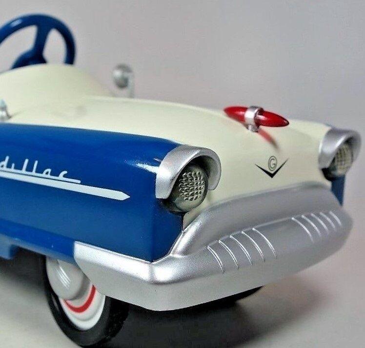 Cadillac Eldorado Auto A Pedal 1950s Vintage Metal Colector   leer la descripción completa