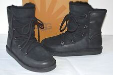 767177bb0a02 item 2 New  200 UGG W Lodge Suede Black Short Boots sz 8 BOHO Lace Up Ankle  -New  200 UGG W Lodge Suede Black Short Boots sz 8 BOHO Lace Up Ankle