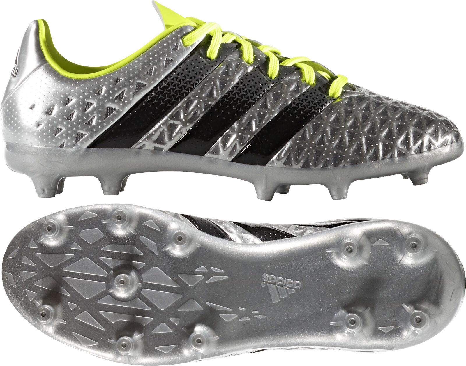 Adidas ACE 16.1 Terreno Firme botas De Fútbol Junior-Plata