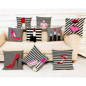 Women Fashion Style Cushion Covers Throw Soft Modern Home Sofa Decor ... c68e3dce3