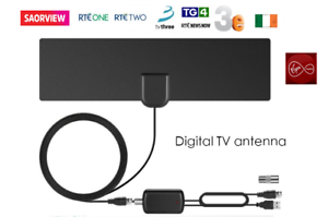 Saorview-Aerial-HD-Digital-TV-Indoor-Aerial-with-USB-signal-Booster-Amplifier