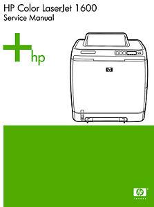 HP Color Laserjet 1600    Printer    Service    Manual    Parts
