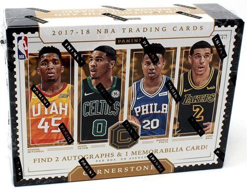 2017//18 PANINI CORNERSTONES Basketball Hobby Box Blowout cartes